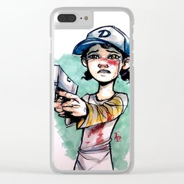 Clemmy Clear iPhone Case