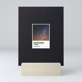 PANTONE SERIES – STARGAZING Mini Art Print