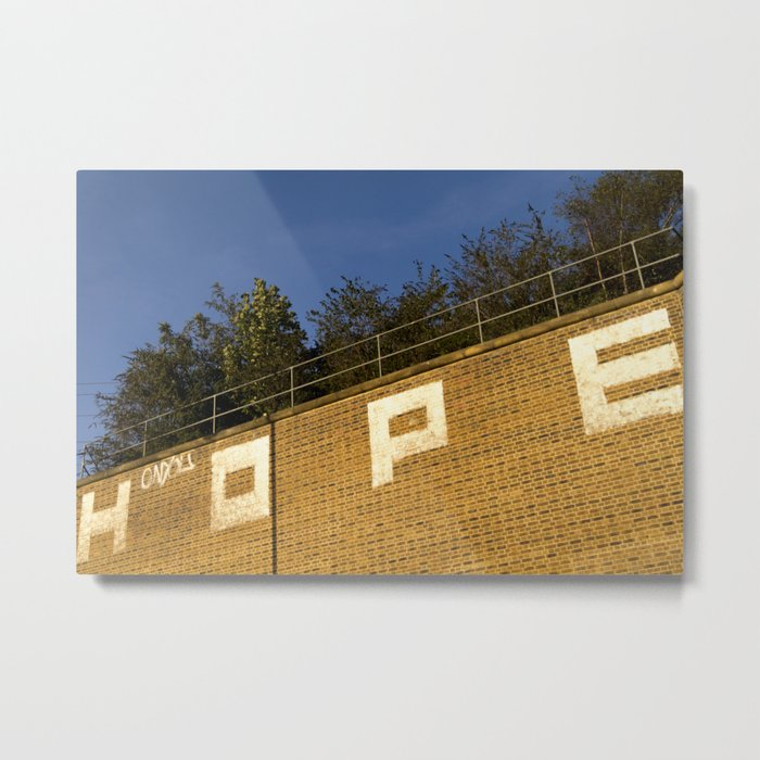 HOPE_EL_LY Metal Print