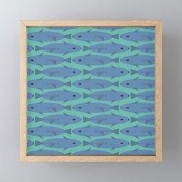 Save the Vaquitas! Framed Mini Art Print
