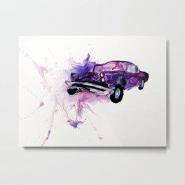 67 Pontiac GTO Metal Print