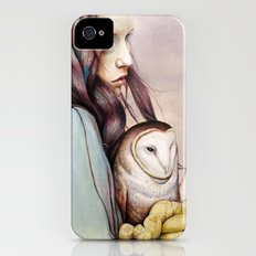 The Girl and the Owl Slim Case iPhone (4, 4s)