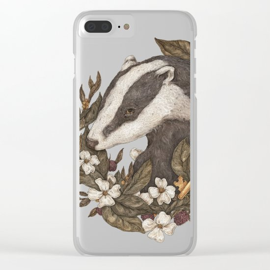 Badger Clear iPhone Case