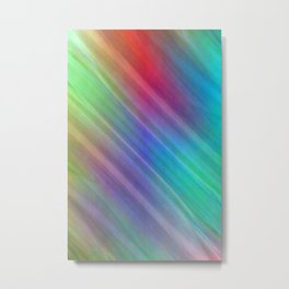 Multicolored lines no. 4 Metal Print