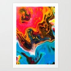 Tributary Art Print