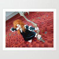 Sailor Merida  Art Print