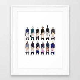 President Butts Framed Art Print