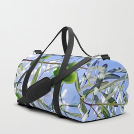 Olives in the sunshine Duffle Bag