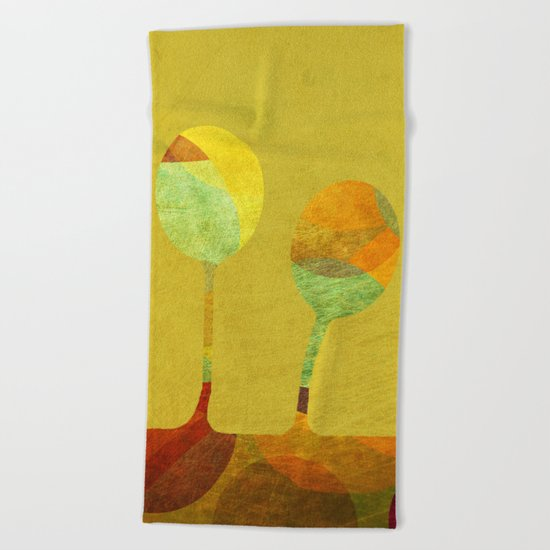 Three of a Kind Beach Towel