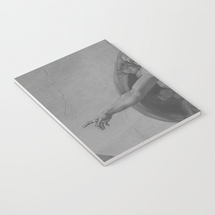 Black White Sistine Chapel Notebook