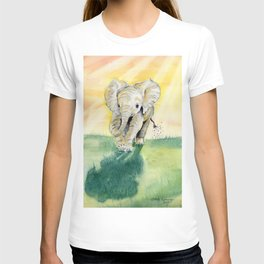 Colorful Baby Elephant T-shirt