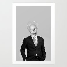 BRIGHT MAN Art Print