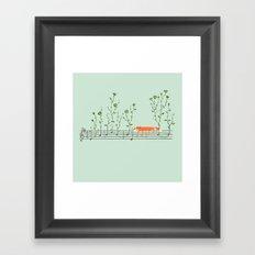 Happy Tune Framed Art Print