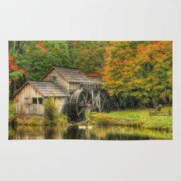 A Mabry Mill Autumn Rug