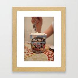 shweddy balls Framed Art Print
