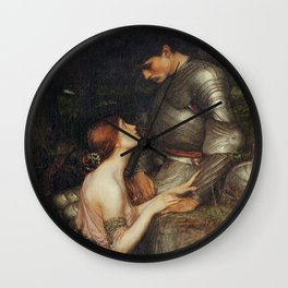 John William Waterhouse Lamia and Soldier 1905 Wall Clock