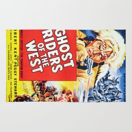 Ghost Riders of The West Rug