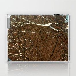 Golden Wrinkles Laptop & iPad Skin