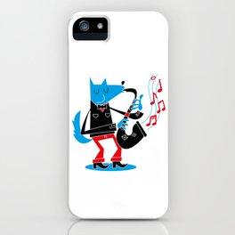 Jazzy Dog II iPhone Case