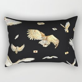 oodles of owls Rectangular Pillow