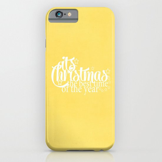 Its Christmas {Gold} iPhone & iPod Case