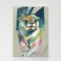 otter Stationery Cards featuring Otter by Nuance