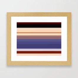 Pixelated Humanoid Framed Art Print
