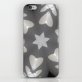 Hearts (from the arches in the Bom Jesus church complex in Old Goa) iPhone Skin