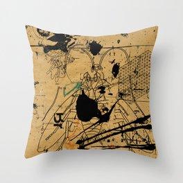 dithering 17 Throw Pillow