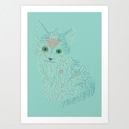 a little cat Art Print