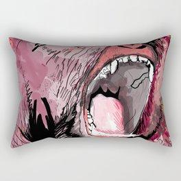 The gorilla  Rectangular Pillow