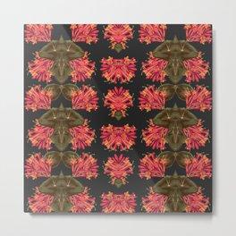 Pink Honeysuckle Metal Print