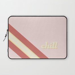 Chill Out Pink Laptop Sleeve