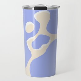 Blue mess Travel Mug