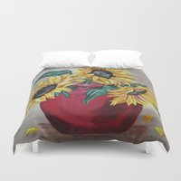 """you are my sunshine Duvet Covers featuring """"You Are My Sunshine"""" by Angie's Dreamworks   muskoka.gal@rogers."""