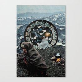 Kronos Canvas Print