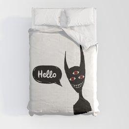 Hello darkness Comforters
