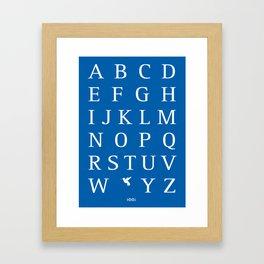 X/Xantus Framed Art Print