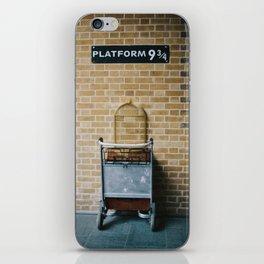 Platform 9.3/4 iPhone Skin