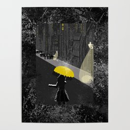 Rainy Night Poster