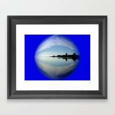 Fossils` Bluff Framed Art Print
