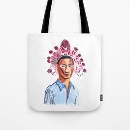Colorful mind of Taoism Tote Bag