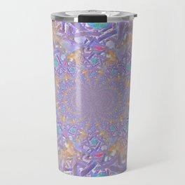 Mandala- Purple Fantasy Travel Mug