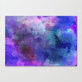 blue opal gemstone Canvas Print