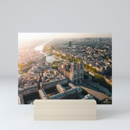 Notre Dame Rise Again Mini Art Print
