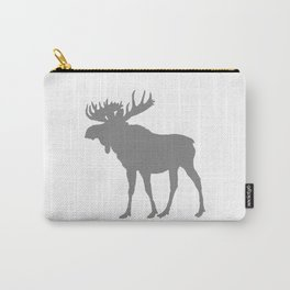 Moose: Grey Carry-All Pouch