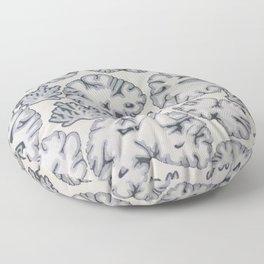 Scatter Brained  Floor Pillow