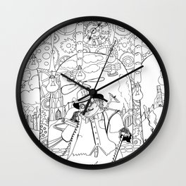 Life of Rich Wall Clock