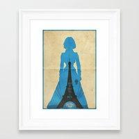 bioshock infinite Framed Art Prints featuring Elizabeth -Bioshock: Infinite Poster by Edward J. Moran II