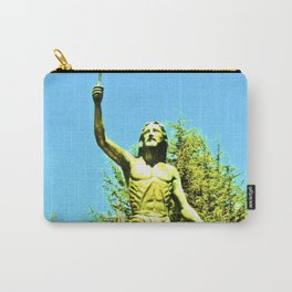 Powerful God cares for ill. Carry-All Pouch